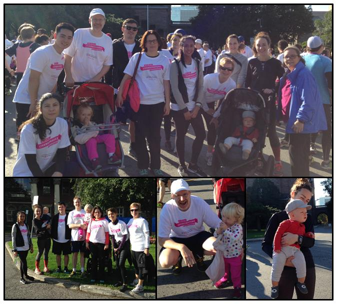 Bereskin & Parr lawyers and staff participating in the 2016 CIBC Run for the Cure